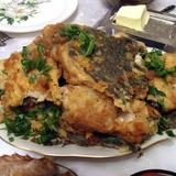 """Жареная рыба """"Сахара"""""""