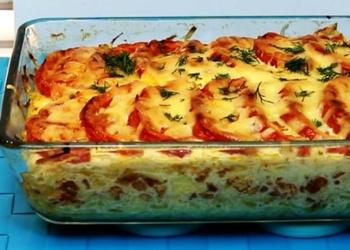 Kartupeļu sacepums ar malto gaļu un sieru