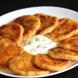Vārītu kartupeļu pankūkas