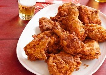 Хрустящая жареная курица (лучший рецепт)