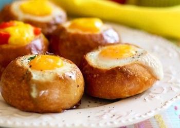 Omlete bulciņā