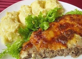 Gaļas un siera sacepums