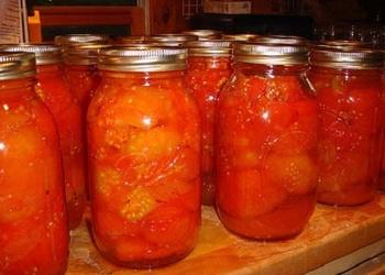 Pildītie tomāti ziemai