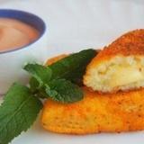 Kartupeļu standziņas ar sieru