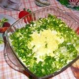 Ziedkāpostu salāti ar olu majonēzē