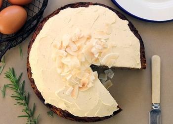 Rozmarīna – citrona torte