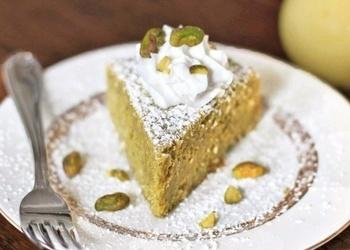 Citronu-pistāciju pīrāgs