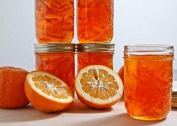 Apelsīnu un mandarīnu mizu ievārījums
