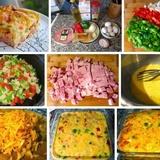 Krāsnī cepta omlete