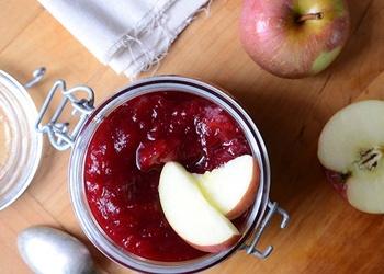 Dzērveņu un ābolu džems