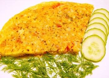 Veģetārā omlete bez olām