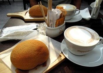Kafijas maizītes ar mandelēm