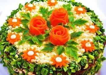 Vistu aknu torte ar dārzeņiem