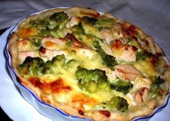 Brokoļi ar olām un sieru