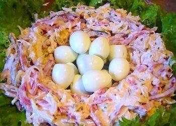 """Salāti """"Putna ligzda"""""""