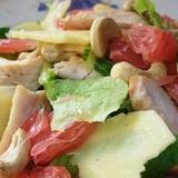 Vistas gaļas un greipfrūtu salāti