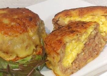 Зразы с сырной начинкой