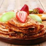 Mazkaloriju rudzu miltu pankūkas