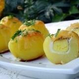 """Krāsnī cepti kartupeļi """"Pārsteigums"""""""