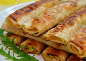 Завтрак на скорую руку - Армянский лаваш с сыром