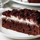 Šokolādes – kafijas kūka ar skābo krējumu