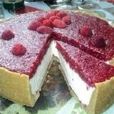 Smilšu cepumu – aveņu siera kūka