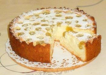 Biezpiena – vīnogu torte