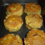 Maltās gaļas plāceņi ar siera pildījumu