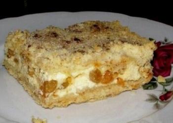 Smilšu mīklas – biezpiena kūka