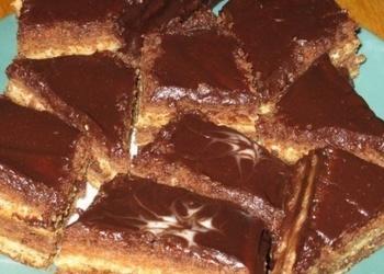 Šokolādes-skābā krējuma pīrāgs