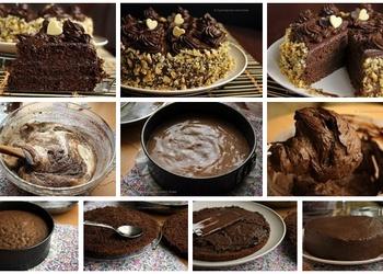 Šokolādes torte ar valriekstiem
