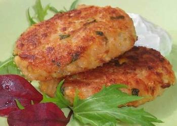 Kabaču un kartupeļu kotletes