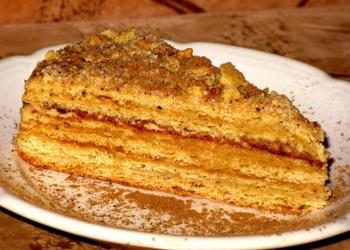 Medus kūkas recepte
