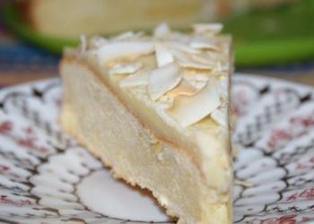 Baltās šokolādes – citrona kūka