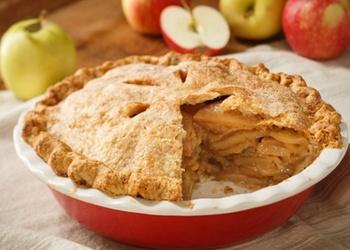 Smilšu mīklas ābolkūka