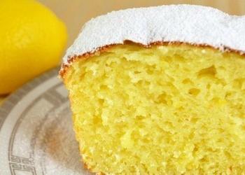 Biezpiena kēkss ar citronu