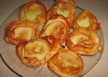 Mazās pankūkas ar āboliem