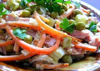 Šķiņķa salāti