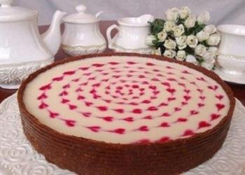Neceptā siera – zefīra kūka