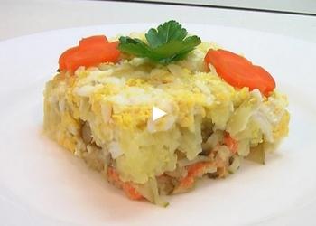 Kārtainie dārzeņu salāti
