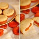 Mannā kēksi ar žāvētām aprikozēm