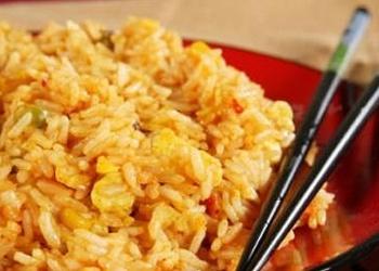 Rīsi ar kokosriekstu pienu un Garam Masala garšvielām