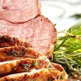 Grillēta jēra gaļa