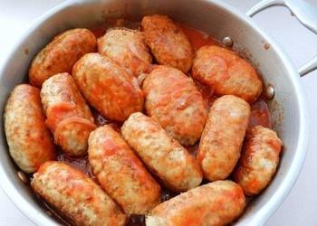 Griķu veltnīši ar tītara gaļu
