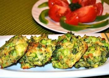 Котлеты из брокколи с сыром