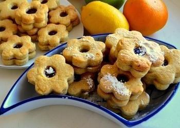 Angļu sviesta cepumi ar džemu