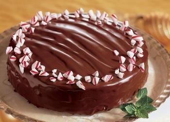 Vaniļas kūka ar šokolādes glazūru