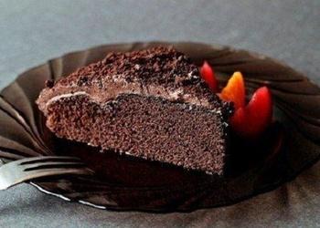 Šokolādes kūka ar glazūru