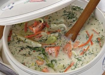 Kūpinātu zivju zupa