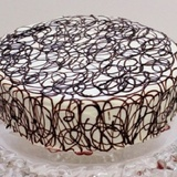 Svētku torte ar olu krēmu